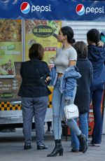 EIZA GONZALEZ Out Shopping in Vancouver 09/26/2017