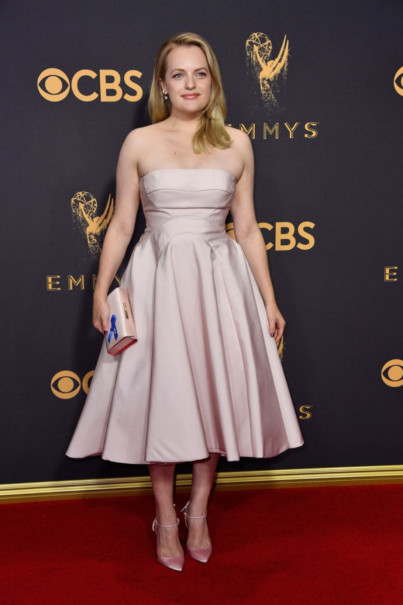 ELISABETH MOSS at 69th Annual Primetime EMMY Awards in Los Angeles 09/17/2017