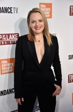 ELISABETH MOSS at Top of the Lake: China Girl Premiere in New York 09/07/2017