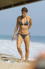 ELISABETTA CANALIS in Bikini on the Beach in Malibu 09/05/2017