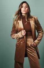 ELIZABETH OLSEN for Glamour Magazine, Mexico October 2017