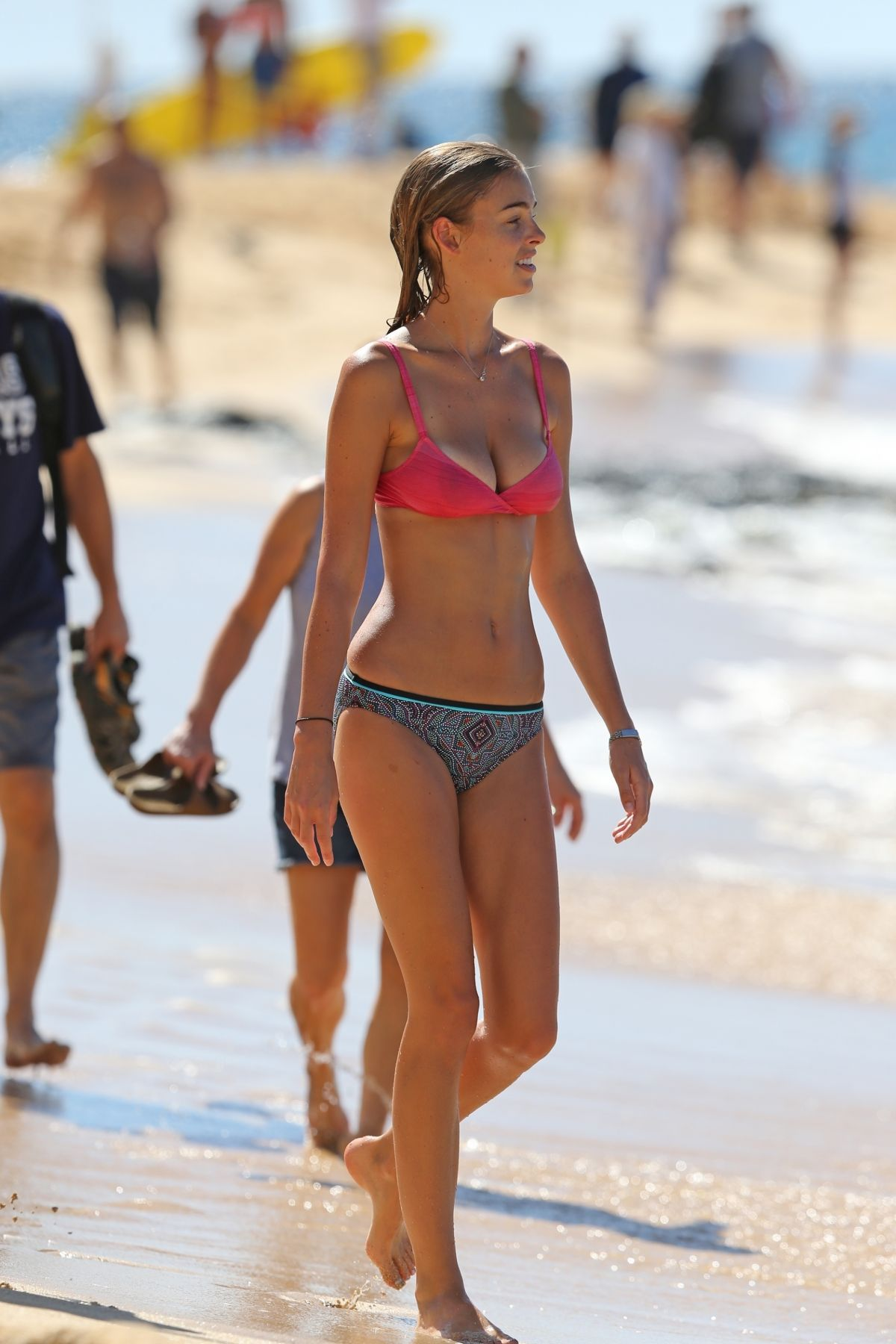 ELIZABETH TURNER in Bikini on the Beach in Hawaii 09/10/2017