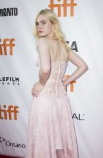 ELLE FANNING at Mary Shelley Premiere at 2017 Toronto International Film Festival 09/09/2017