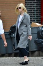 ELLE FANNING Out and About in New York 09/19/2017