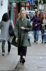 ELLE FANNING Out for Lunch in New York 09/03/2017