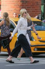 ELLE FANNING Out Shopping in New York 09/11/2017