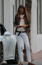 ELLE MACPHERSON Out and About in Miami 09/22/2017
