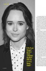 ELLEN PAGE in Diva Magazine, October 2017