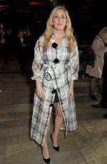 ELLIE GOULDING at Emporio Armani Fashion Show at London Fashion Week 09/17/2017
