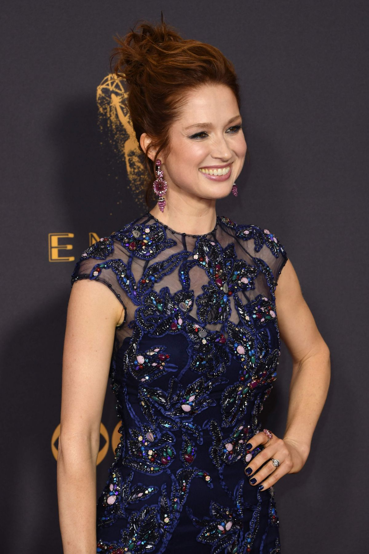 ELLIE KEMPER at 69th Annual Primetime EMMY Awards in Los Angeles 09/17/2017