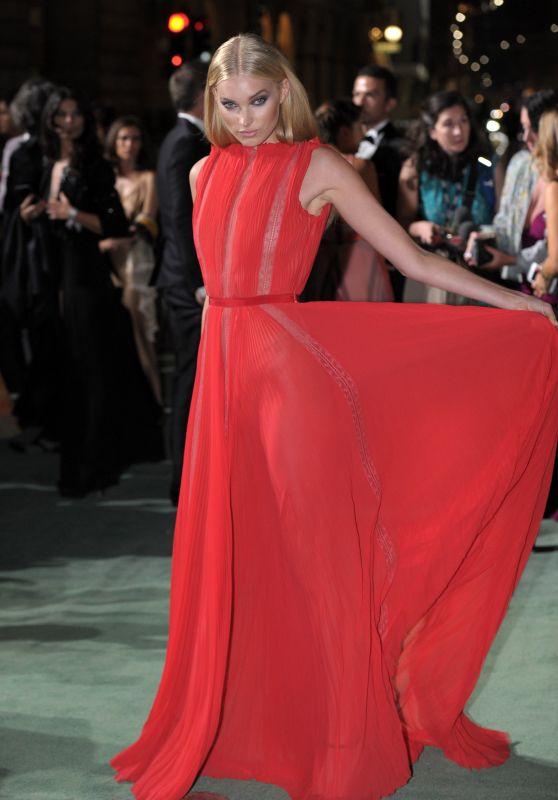 ELSA HOSK at Green Carpet Fashion Awards in Milan 09/24/2017