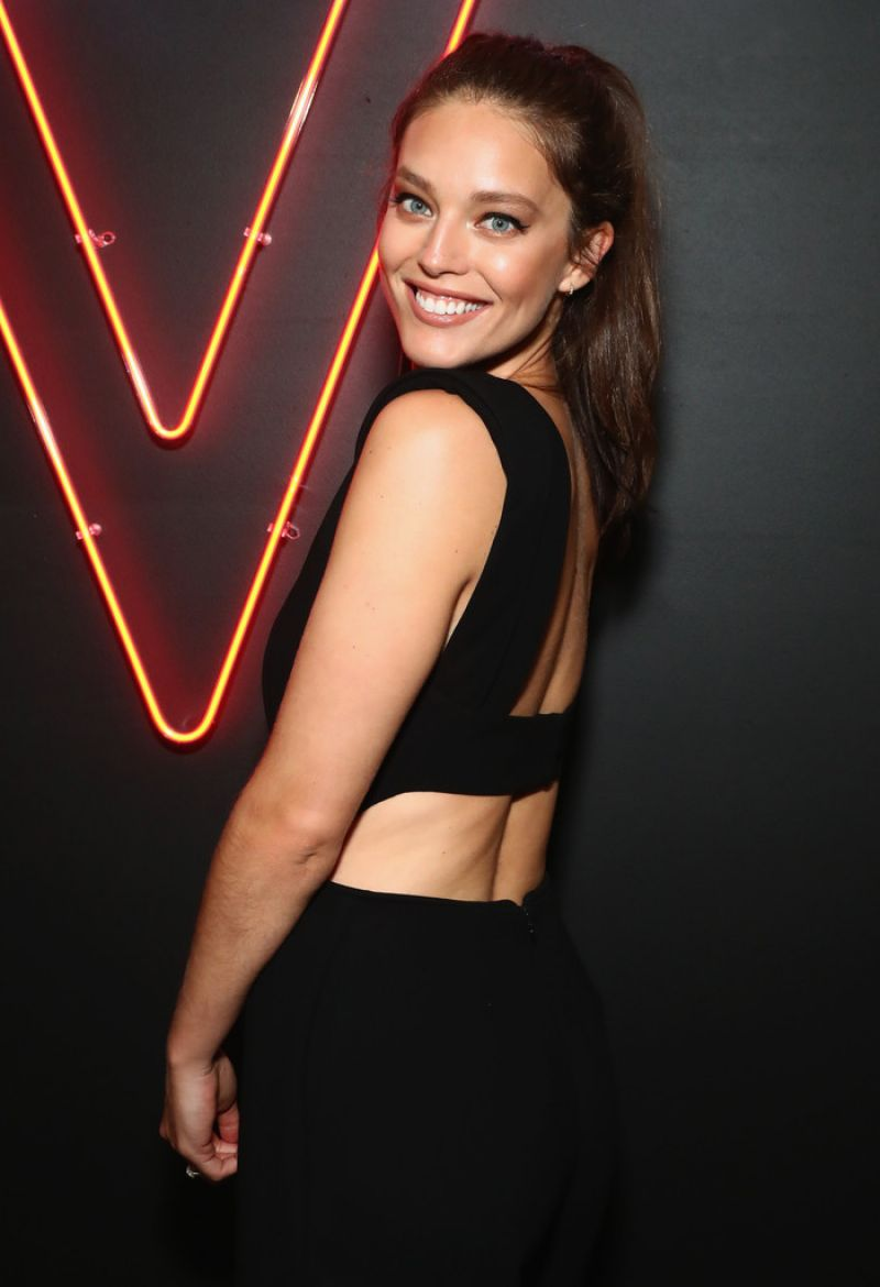 EMILY DIDONATO at Maybelline Mansion Presented by V in New ...
