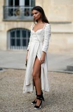 EMILY RATAJKOWSKI at Christian Dior Fashion Show at Paris Fashion Week 09/26/2017