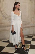 EMILY RATAJKOWSKI at Christian Dior Fashion Show at Paris Fashion Week 09/26/2017