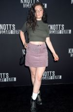 EMMA KENNEY at Knott's Scary Farm Celebrity Night in Buena Park 09/29/2017