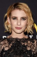 EMMA ROBERTS at Harper's Bazaar Icons Party in New York 09/08/2017