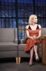 EMMA ROBERTS on Late Night with Seth Meyers in New York 09/12/2017