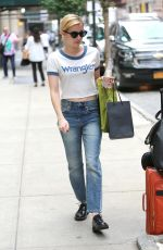 EMMA ROBERTS Out and About in New York 09/13/2017