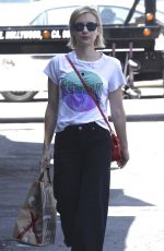 EMMA ROBERTS Out in West Hollywood 08/31/2017