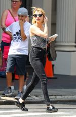 EMMA ROBERTS Out Shopping in New York 09/11/2017