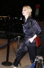 EMMA STONE Arrives at SVA Theater in New York 09/19/2017
