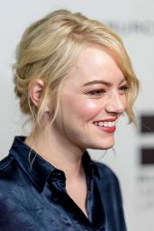 EMMA STONE at Battle of Sexes Academy Screening in New York 09/19/2017
