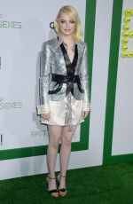 EMMA STONE at Battle of the Sexes Premiere in Los Angeles 09/16/2017
