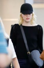 EMMA STONE at JFK Airport in New York 09/17/2017