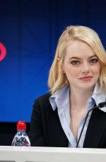 EMMA STONE at US Open Press Conference for Battle of the Sexes 09/09/2017