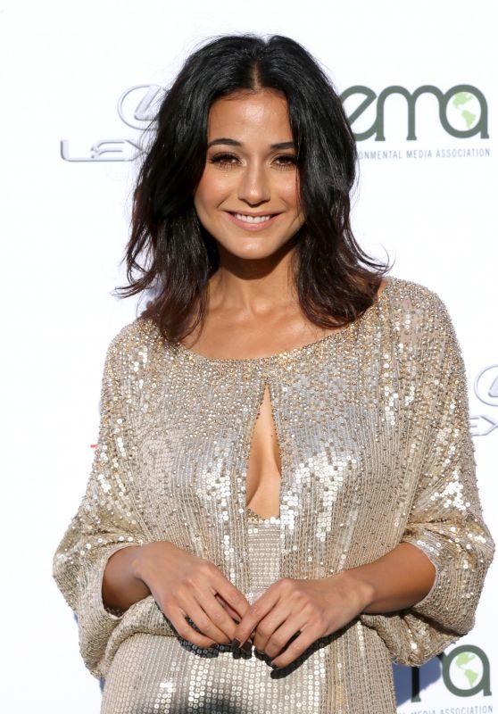 EMMANUELLE CHRIQUI at Environmental Media Awards in Santa Monica 09/23/2017