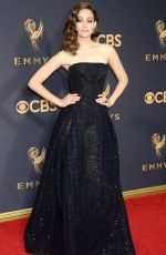 EMMY ROSSUM at 69th Annual Primetime EMMY Awards in Los Angeles 09/17/2017