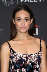 EMMY ROSSUM at Paleyfest Fall Preview Presents Shameless in Beverly Hills 09/06/2017