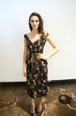 EMMY ROSSUM at Shameless Press Conference in Hollywood 09/27/2017