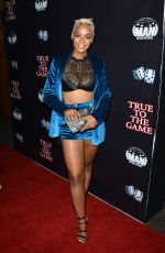 ERICA PEEPLES at True to the Game in Los Angeles 09/05/2017