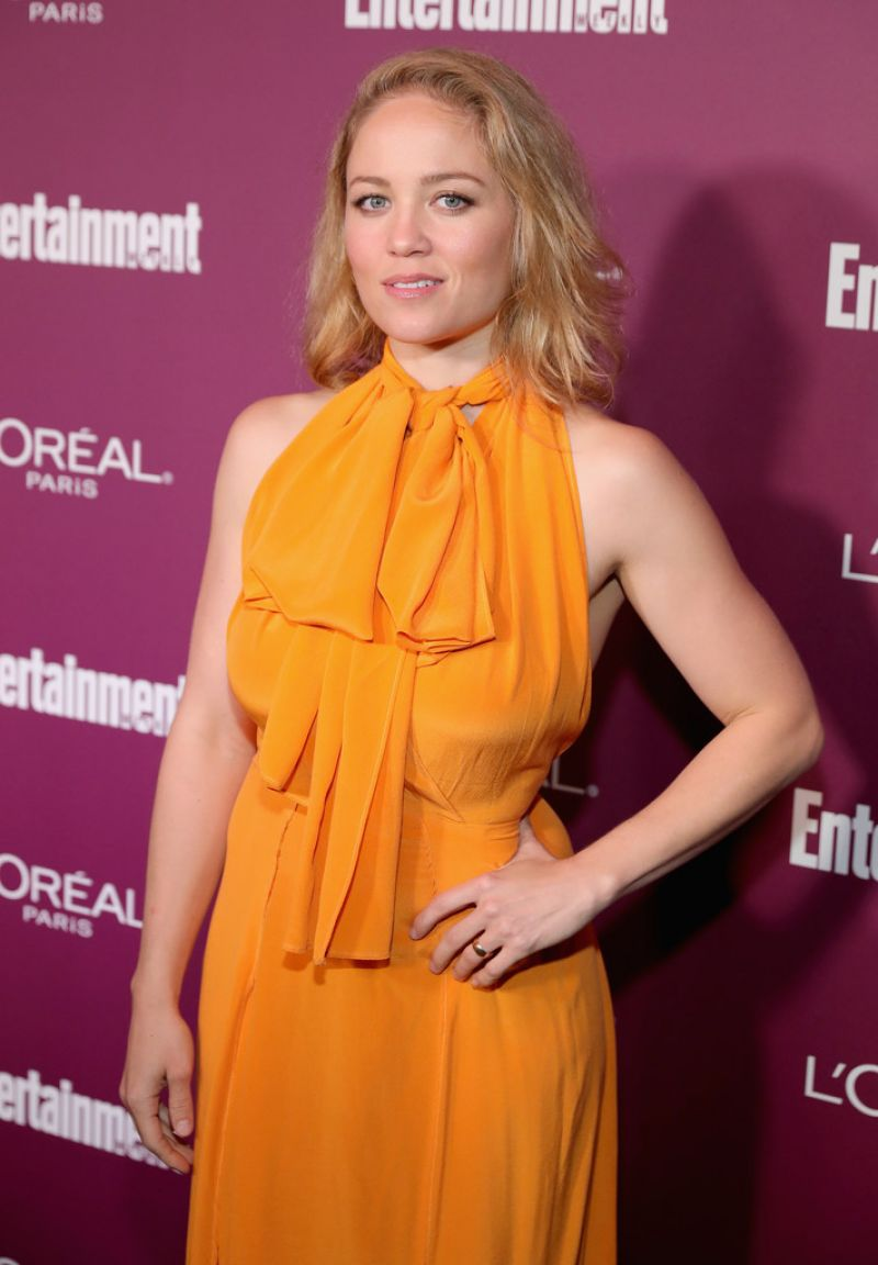 ERIKA CHRISTENSEN at 2017 Entertainment Weekly Pre-emmy ...