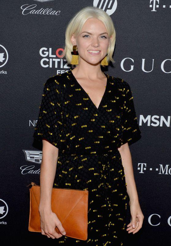 ERIN RICHARDS at Global Citizen Festival in New York 09/23/2017