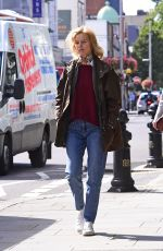 EVA HERZIGOVA Out and About in London 09/12/2017