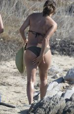 EVA LONGORIA in Bikini at Delos Beach in Greece 09/07/2017