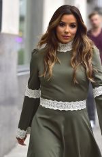 EVA LONGORIA Leaves Her Hotel in New York 09/14/2017