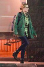 EVAN RACHEL WOOD Night Out in Studio City 09/21/2017
