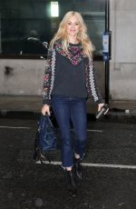 FEARNO COTTON Arrives at Ken Bruce Show