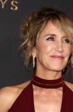 FELICITY HUFFMAN at Television Academy 69th Emmy Performer Nominees Cocktail Reception in Beverly Hills 09/15/2017
