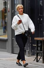 FRANKIE BRIDGE Out and About in London 09/07/2017