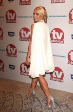 GABBY ALLEN at TV Choice Awards in London 09/04/2017