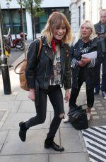 GABRIELLE APLIN Arrives at BBC Studio in London 09/02/2017