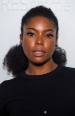 GABRIELLE UNION at E!, Elle & Img Host New York Fashion Week Kickoff Party 09/06/2017