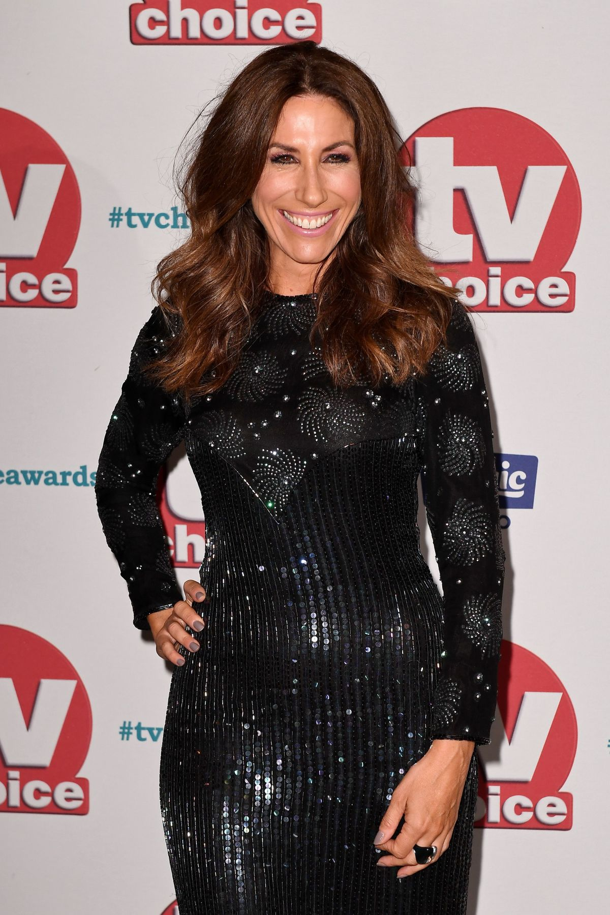 GAYNOR FAYE at TV Choice Awards in London 09/04/2017