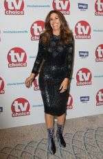 GAYNOR FAYE at TV Choice Awards in London 09/04/2017