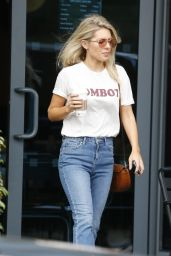 GEMMA ATKINSON and MOLLIE KING Leaves Their Hotel in London 09/23/2017