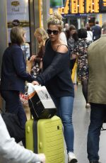 GEMMA ATKINSON at Piccadilly Train Station in Manchester 09/06/2017